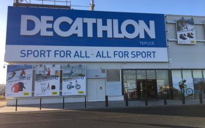 Decathlon Teplice součástí Tour