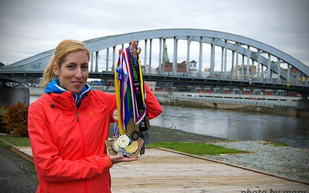 Zuzana Kotěšovcová. Místo profi běžkyně chci být profi matkou.