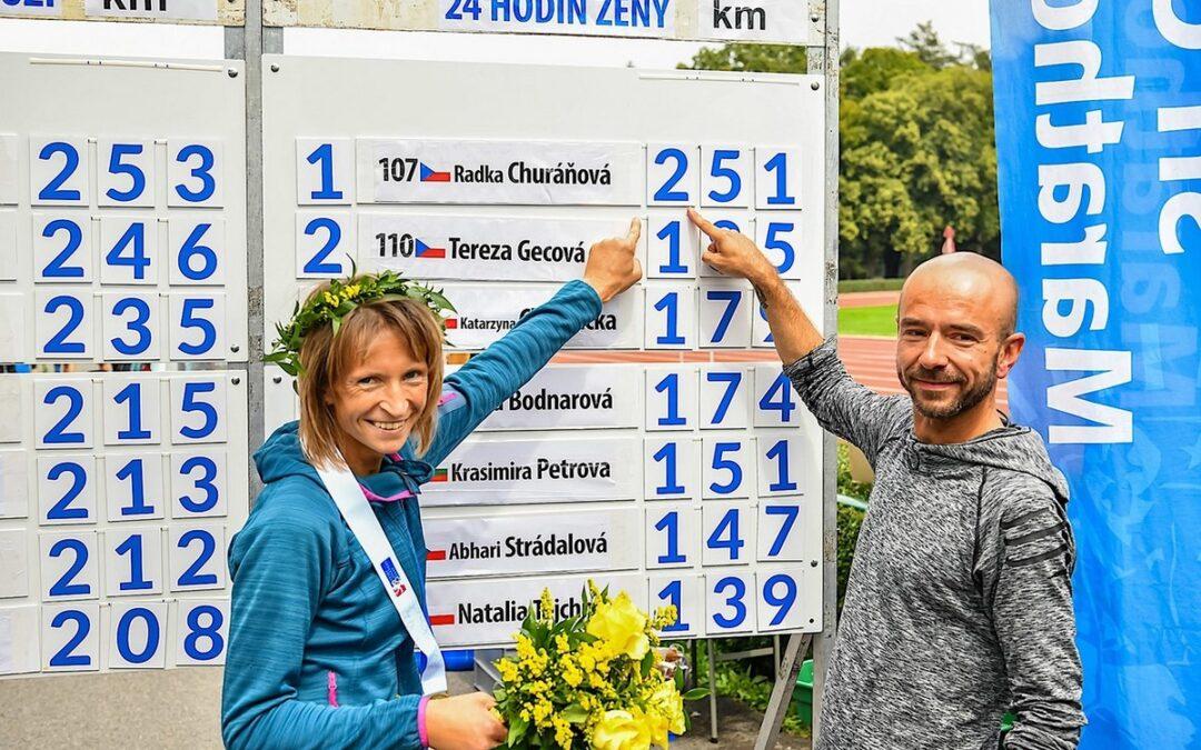 Nabité startovní pole na Miladě doplní Radka Churaňová