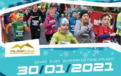 Tour odstartuje WINTER Milada Run